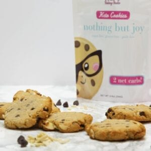 Keto Cookies Nothing but Joy | Kai's Baking