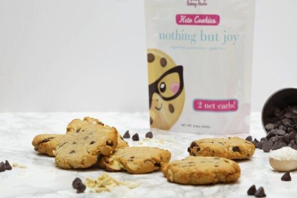 Keto Cookies Nothing but Joy | Kai's Baking